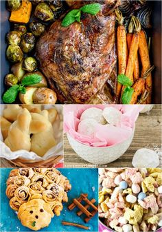 5 Easter Recipes + Funtastic Friday 171 Link Party | Olives & Okra