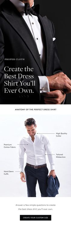 Find out why guys are choosing Proper Cloth's custom dress shirts over traditional off-the-rack brands.