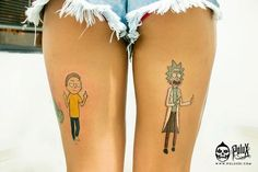 Veja 30 tatuagens de Rick e Morty para mostrar que é um verdadeiro fã desta dupla que está dominando o mundo com seu humor ácido e críticas engraçadas.