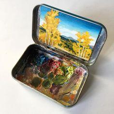 Altoids Tin Paintings