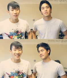 jay park and ryan higa <3