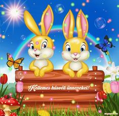 Share Pictures, Animated Gifs, Illustrations And Posters, Cute Baby Animals, Happy Easter, Tweety, Princess Peach, Cute Babies, Pikachu