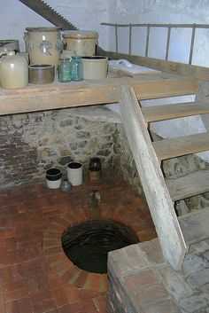 Hidden Well at the Levi Coffin House  This hidden spring-fed well in the Levi Coffin House is one of the special features that helped the Coffin's assist more than 2,000 slaves on their way to freedom via the Underground Railroad.