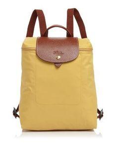 LONGCHAMP Le Pliage Backpack. #longchamp #bags #leather #lining #pvc #nylon #backpacks #