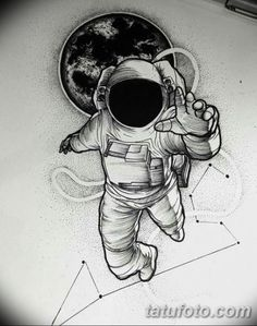 New tattoo designs men drawings fathers 59 ideas - tattoo! - New tattoo designs men drawings fathers 59 ideas – tattoo! Astronaut Tattoo, Astronaut Drawing, Astronaut Illustration, Space Illustration, Future Tattoos, New Tattoos, Body Art Tattoos, Tattoo Arm, Tattoo Moon