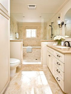 Love the tub inside the shower ..again!