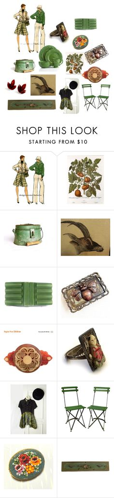 """""""Coordinate Your Life"""" by patack ❤ liked on Polyvore featuring vintage"""
