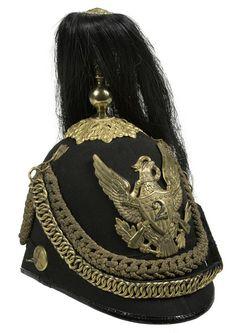 Pattern 1881 Mounted Infantry Officer's Dress Helmet