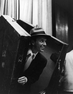 William Claxton Frank Sinatra, Hollywood, 1955 14 x 11 Silver Gelatin Photograph, Ed. Joey Bishop, Hollywood Glamour, Classic Hollywood, Old Hollywood, Hollywood Party, Hollywood Stars, Humphrey Bogart, Dean Martin, Franck Sinatra