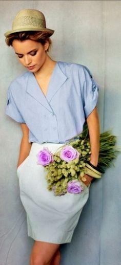 Parisian Chic - my inspiration for Paris fashion this week. <3