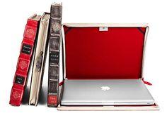 Housse d'ordinateur livre : Parfait pour éloigner les voleurs !