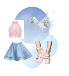 """""""Pastel 4"""" by unikitty864 on Polyvore featuring Alyce Paris and ASOS"""