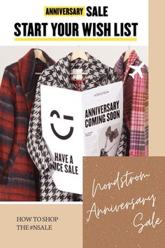 Get inspiration on the fall and winter trends, stock up on your favorite beauty products, or get a head start on your holiday shopping!  I'll give you all the details you need to know shop the #nsale