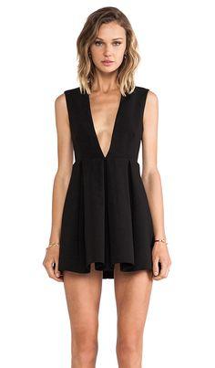 AQ/AQ Upper Mini Dress in Black | REVOLVE