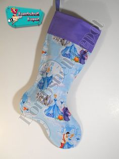 Disneys Cinderella Handmade Christmas Stocking