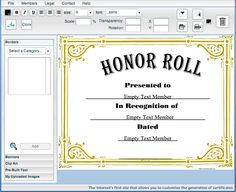 Certificate Creator – Create and print awards and certificates for school, sports, work or fun! #certificate, #creator, #school, #recess, #praise, #achievement, #kindergarten, #education, #teacher, #teach, #resource, #grade, #school, #honor, #roll, #good, #job, #learning, #child, #children, #certificate, #print, #educational, #positive #reinforcement, #family, #appreciation, #recognition, #excellence…