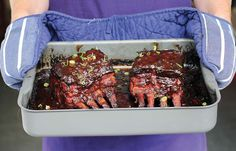 Vinegar and Spice Oven-Baked Ribs | Recipe | Oven Ribs, Ribs and Ovens