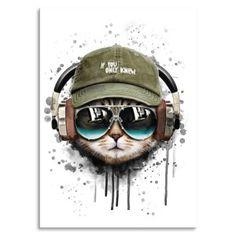 Party wo auch immer….pimp it up!!! Unsere Bierdeckel aus Pappelholz sind auch als Postkarte oder Wandbild einsetzbar. Format 10 x 10 cm Rückseite weiss Party Animals, Animal Party, Pimp, Tea Cups, Kittens, Poster, Iphone, Skull Art, Drawings Of Cats