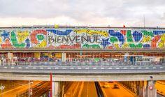 ATC rhabille l'aéroport d'Orly aux couleurs de Castelbajac #Adhésif