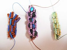 Reckless Beading: Crocheting with various threads and beads