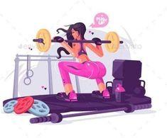 Los beneficios de la actividad física y el ejercicio en la salud de la mujer so... - #actividad #beneficios #de #ejercicio #El #en #física #la #Los #mujer #salud Fit Girl Motivation, Funny Gym Motivation, Fitness Motivation, Michelle Lewin, Illustration Girl, Illustration Pictures, Character Illustration, Yoga, Gym Girls
