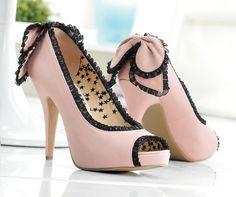 Peep-toe #heels with everything? #PrincessVeraWang is so you. #borntorule #Kohls