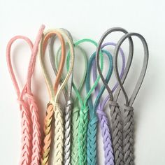 These leather braided pacifier clips by Madeline's Box are WELL made here in the USA. These clips will fit any pacifier, teether, toy, sippy cup, and any baby item that has a hole or place to pull our clip through. Keep your baby's pacifier and toys close by and off the dirty ground in style! There are over 50 colors to choose from... Madeline's Box pacifier clips are made with precision and love!