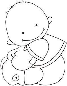 cute cartoon baby boy vector art illustration baby s pinterest