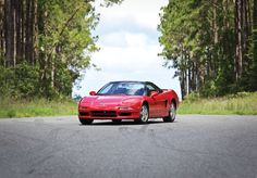 1991 Acura NSX. Honda tuned the NSX's chassis with input from three-time Formula One World Champion, Ayrton Senna. To this day, it is still one of my favorite cars of all-time.