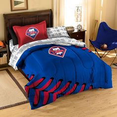 Philadelphia Phillies MLB Bed in a Bag (Contrast Series)(Twin)
