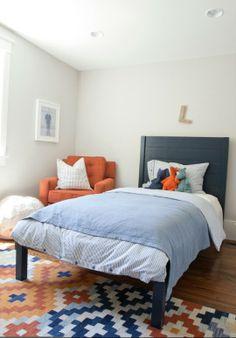 Simple boy's bedroom