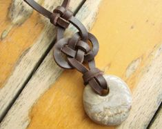 Rock of Gibraltar Celtic Knot necklace от NiceKnots на Etsy