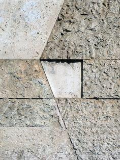 Luigi Moretti: an architecture of la bella figura Luigi, Paving Pattern, Brick And Stone, Facade Architecture, Stone Tiles, Building Materials, Textured Walls, Textures Patterns, Paver Walkway