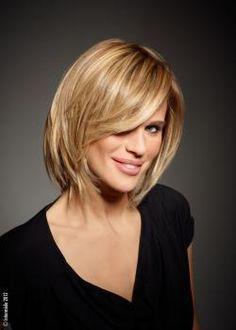 Coupe cheveux mi-long blonde 2013 intermède