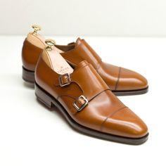 Carmina shoemaker — DOUBLE MONK STRAPS 10003 RAIN...