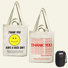 reuseit Slogan Tote Shopping Bag Set $11.95  How cute!