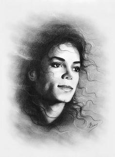 Michael Print By Ludmila Zimina