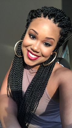 Different Types Of Crochet Braids Idea Different Types Of Crochet Braids. Here is Different Types Of Crochet Braids Idea for you. Different Types Of Crochet Braids 47 beautiful crochet braid Box Braids Hairstyles, Senegalese Twist Hairstyles, My Hairstyle, Crochet Twist Hairstyles, Hair Updo, Stylish Hairstyles, Dreadlock Hairstyles, Hairstyles 2016, Beautiful Hairstyles