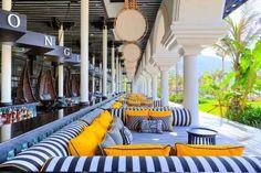 Intercontinental Danang Sun Peninsula Resort Review - love the fabrics and set up Địa chỉ : K55/7 Ngũ Hành Sơn - TP Đà Nẵng