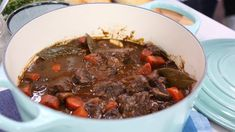 Beef bourguignon (use pinot noir - which is from region of Burgundy) with bacon, shallots, garlic, carrots and mushrooms Pork Recipes, Slow Cooker Recipes, Cooking Recipes, Healthy Recipes, Game Recipes, Recipies, Dinner Recipes, Beef Bourgignon, Healthy Meats