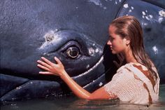 "Official photo of Marzena Godecki as Neri from the 90s Australian television series ""Ocean Girl"""