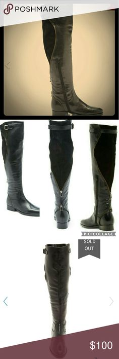 Catherine malandrino over the knee Boots olicia Brand new but tried on, Leather tall over the knee by Catherine Malandrino. Style name is Olicia. 100% authentic. Please note boots were store displays. They are however in excellent condition. Some look brand new. If You would like to see what your size looks like please comment and i will make separate listing. THANKS :) Catherine Malandrino Shoes Over the Knee Boots