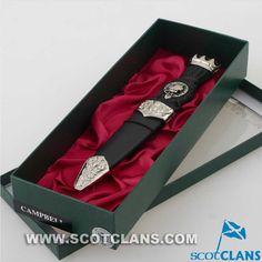 Campbell Clan Crest Sgian Dubh