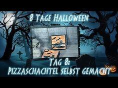 8 Tage Halloween - Tag 8 - Pizzaschachtel mit Produkten von Stampin' Up! - YouTube