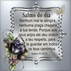 Flores e frases: Salmos 91:10,11