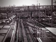 Chemin de fer, gare