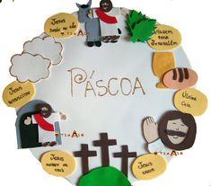 PÁSCOA - ÚLTIMOS DIAS DA VIDA DE JESUS (4ª aula) | ´¯`··._.·Blog da Tia Alê