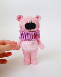 New look of Festive Teddy Bear - FREE PATTERN