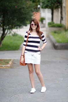 Large stripes outfit http://www.justlia.com.br/2015/01/look-do-dia-listras-largas/