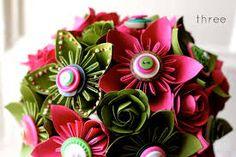 paper flowers bouquet diy - Google Search